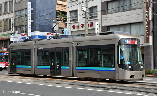 長崎電気軌道3001: 路面電車覚書